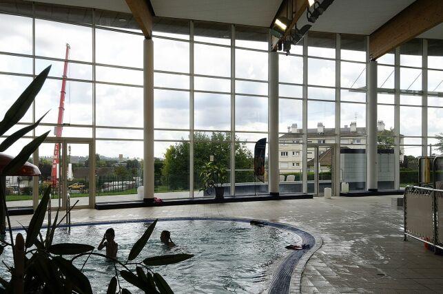 Le centre aquatique Philippe Loisel à Breteuil