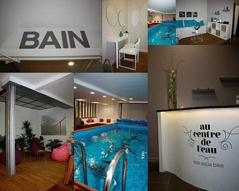 """Le centre d'aquabike et spa """"Au Centre de l'Eau"""" à Bordeaux<span class=""""normal italic petit"""">DR</span>"""