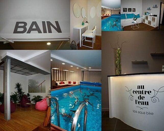 """Le centre d'aquabike et spa """"Au Centre de l'Eau"""" à Bordeaux"""