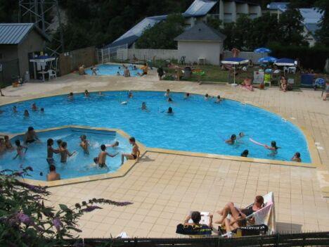 Le centre de loisirs Helios à Barèges dispose de plusieurs bassins pour les enfants