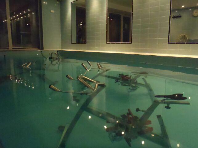 Le centre La ligne d'Ô propose des séances d'aquabiking