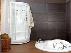 Une douche jacuzzi (cabine hydromassante) dans votre salle de bain