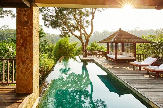 Le Como Shambhala Estate, près d'Ubud, à Bali