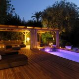 Photos piscines de nuit