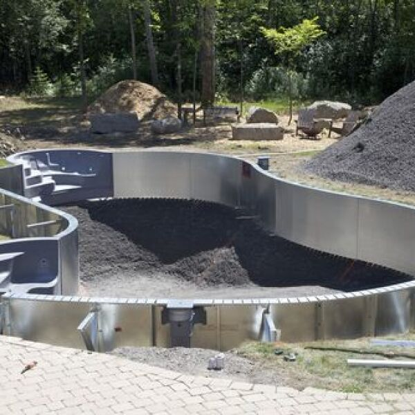 Le co t de la construction d une piscine for Cout piscine