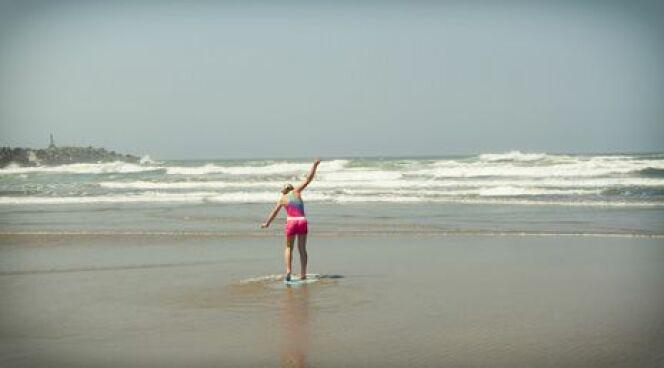 Le danger des baïnes pour les baigneurs sur la côte atlantique