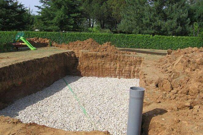 """Le drainage est important en cas de sol argileux.<span class=""""normal italic petit"""">© Fabulon</span>"""