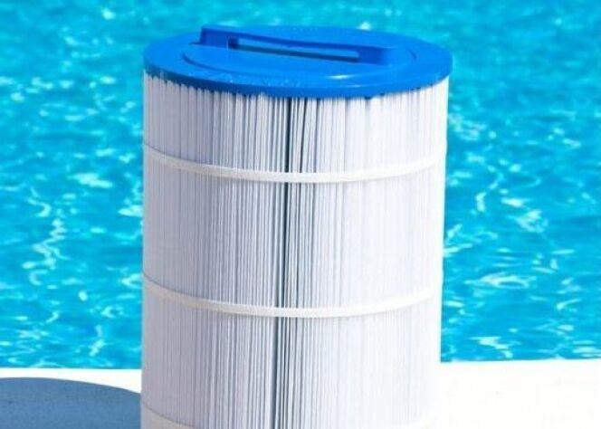 """Le filtre de piscine à cartouche <span class=""""normal italic petit"""">DR</span>"""