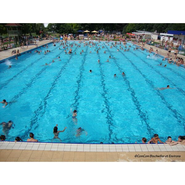 Piscine en plein air de bischwiller horaires tarifs et for Bassin piscine