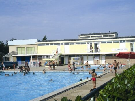 Les piscines du stade nautique de Digoin