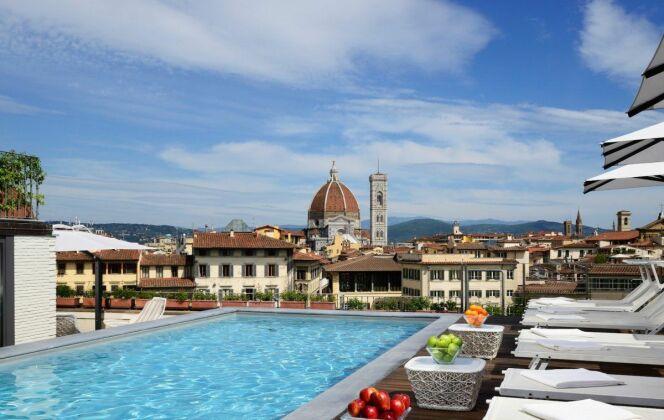 Le Grand Hôtel Minerva à Florence (Italie) © Grand Hotel Minerva