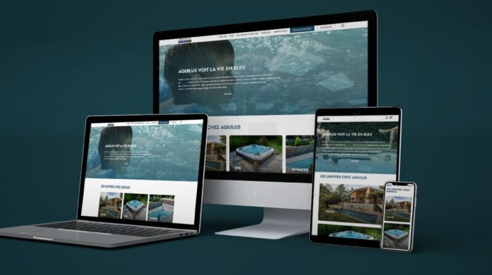 Le Groupe Aquilus présente son nouveau site web © Groupe Aquilus