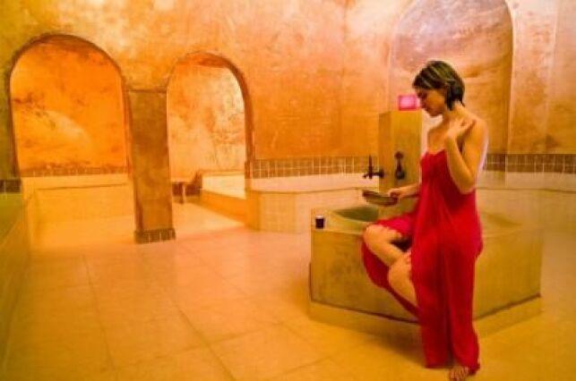 Le hammam du spa de l'Arganier à Salon-de-Provence
