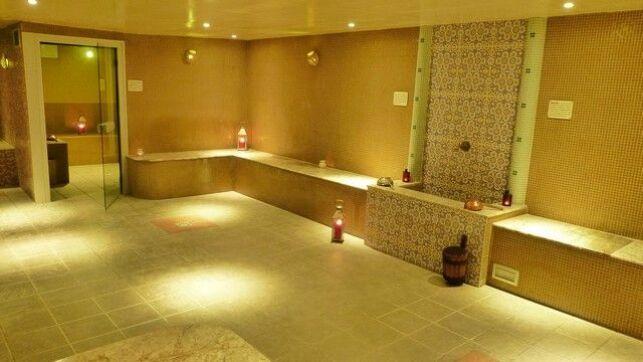 Le hammam du spa L'Orient Espace à Niort