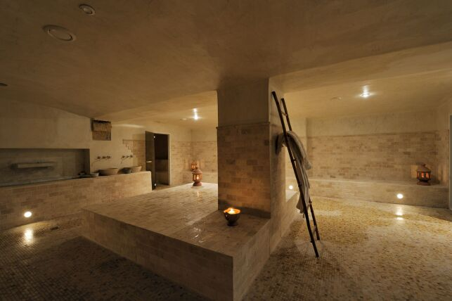 Le hammam du spa La Bastide des Bains à Marseille