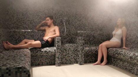 Le hammam du spa Le Patio à Allonne