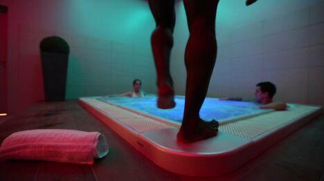 Le jacuzzi du spa Le Patio à Allonne