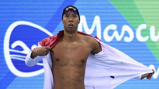 Le japonais Ippei Watanabe, ici lors des JO 2016 de Rio.