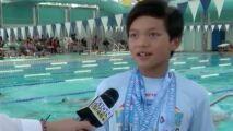 Un jeune américain bat un record détenu par Phelps