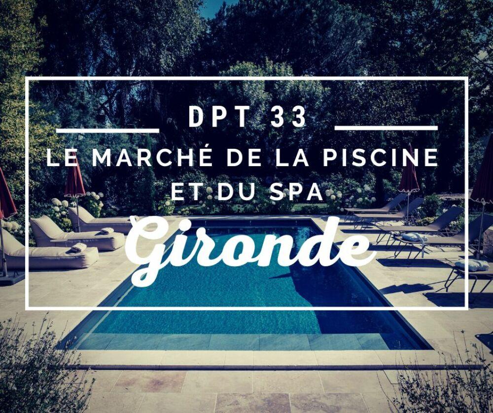 Le marché de la piscine et du spa en Gironde© Réalisation Bordeaux Piscines