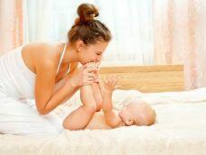 Le massage pour bébé