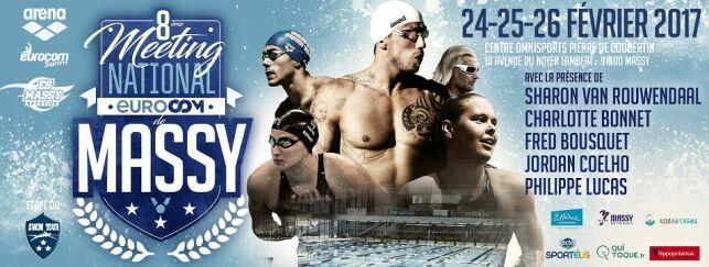 Le meeting de Massy est une des 3 étapes du Swim Tour en France.