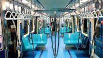 Un métro transformé en piscine olympique