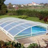 Abri de piscine téléscopique Le Mezzo Abridéal