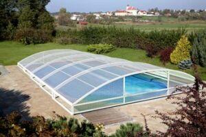 Le Mezzo : L'Abri de piscine téléscopique