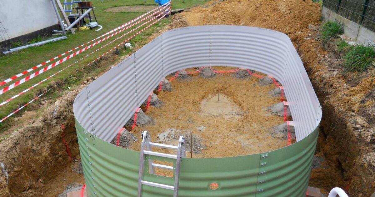 Montage d 39 une piscine mode d 39 emploi - Montage d une piscine waterair ...