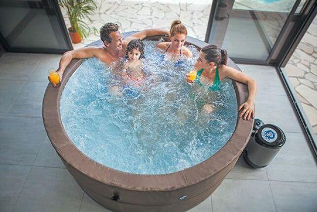 Le nouveau spa portable de NetSpa