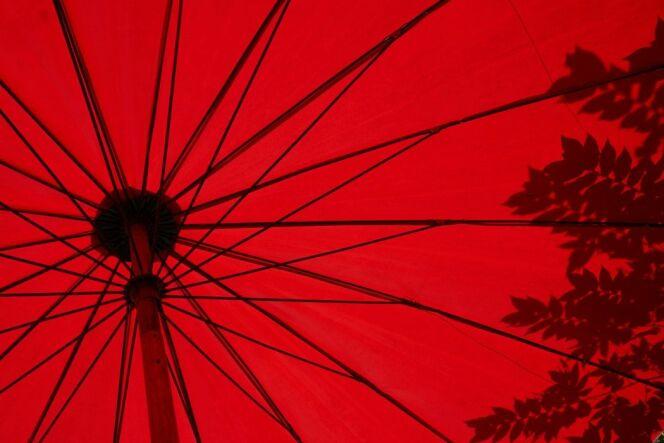 Le parasol de spa