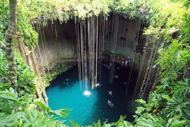 Le parc Ik Kil au Mexique