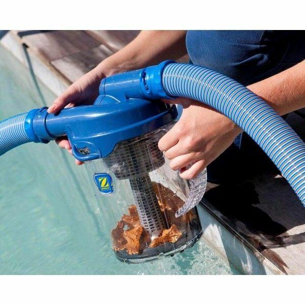 Le pi ge feuilles pour piscine for Aspirateur filtre piscine