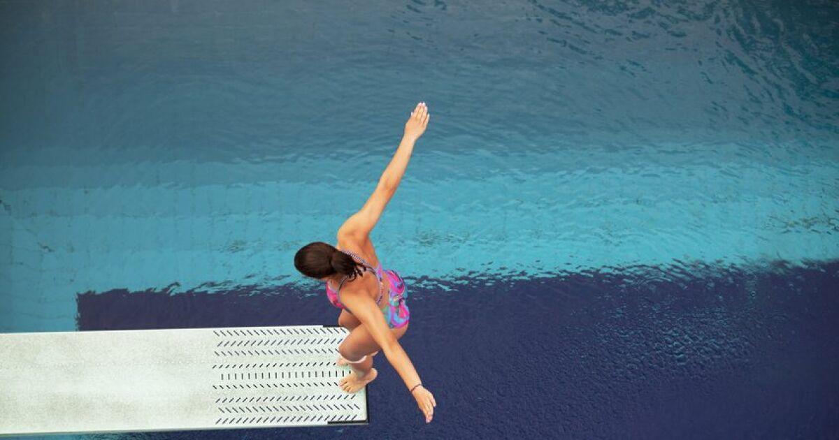 Le plongeoir de piscine pour un t plein d 39 action for Plongeoir piscine