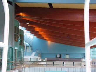 Le plongeoir du centre aquatique Lamballe Communauté