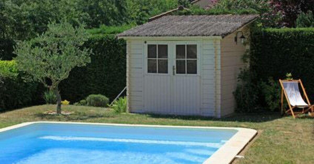 Le pool house en kit for La piscine pool nyc