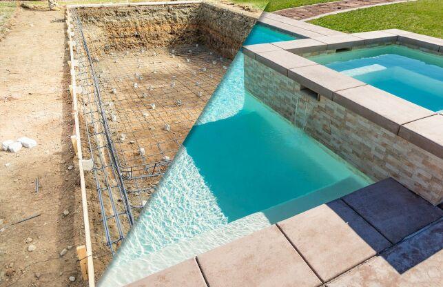 Le prêt travaux pour la construction d'une piscine