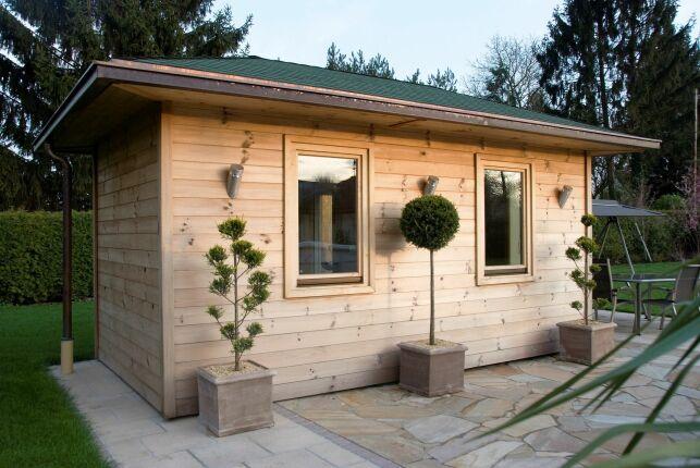 Le prix d'installation d'un sauna extérieur