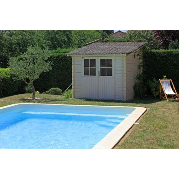 Prix d un pool house for Kit piscine bois avec pompe a chaleur