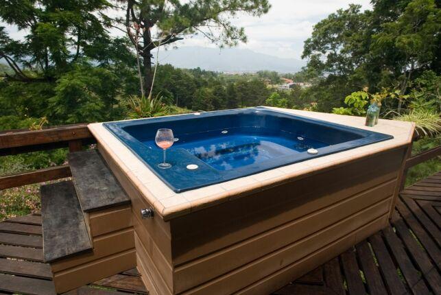 Le prix d'un spa en bois