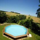 Le prix d'une piscine bois semi enterrée