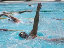 L'épreuve du relais en natation