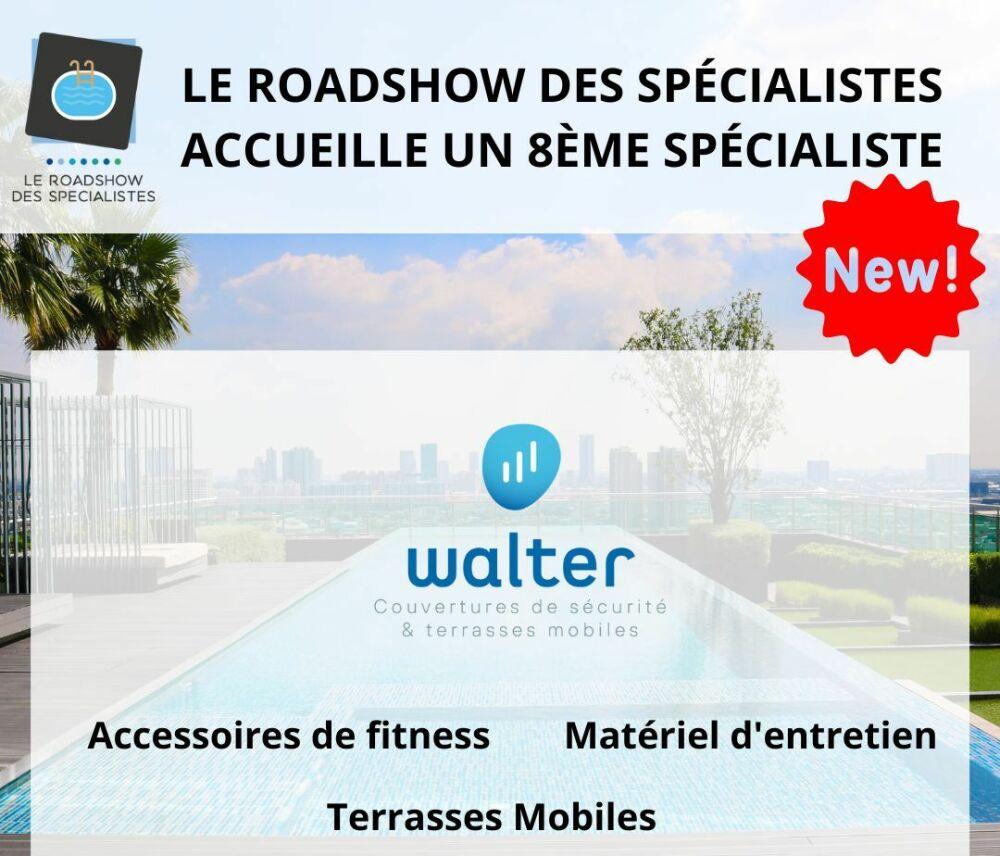 Le Roadshow des Spécialistes accueille Walter Pool© Roadshow des Spécialistes