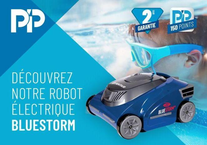 Le robot de piscine Bluestorm de Pentair