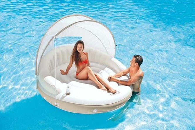 Le salon Lounge Caraïbes Intex