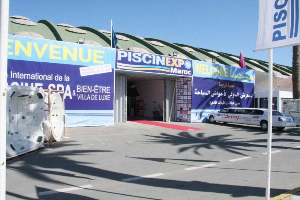 Le salon Piscine Expo Maroc© Piscine Expo Marco