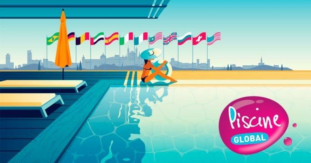 Le salon piscine global j 5 for Salon piscine