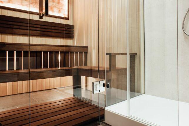 Le sauna combiné