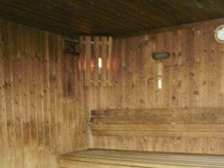 Le sauna du Centre Nautique du Val de Morteau à Les Fins